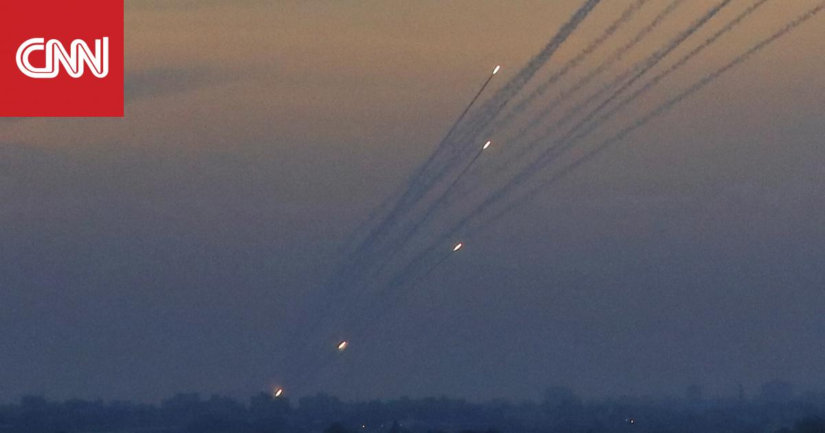 الجيش الإسرائيلي يعترض صاروخا أطلق من قطاع غزة