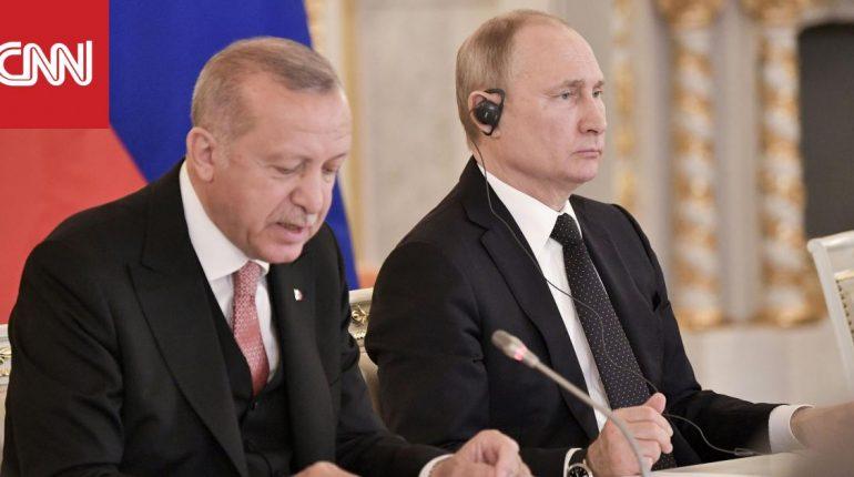 أردوغان يجري زيارة إلى روسيا بعد التطورات الأخيرة في سوريا