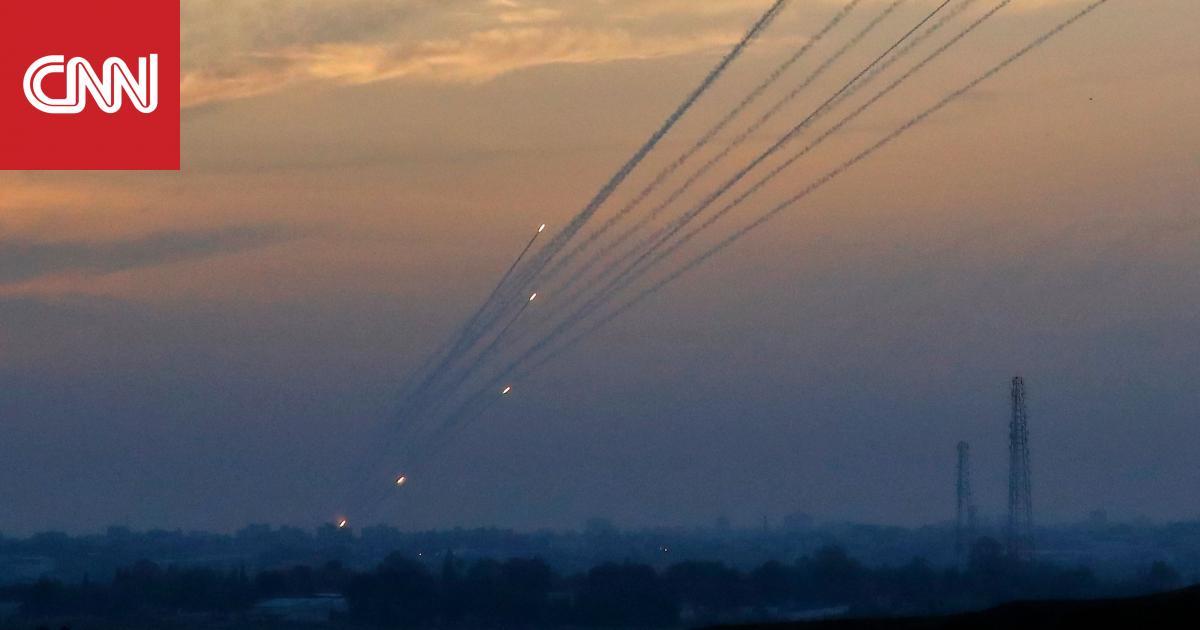 الجيش الإسرائيلي يعترض صاروخين من 3 أطلقوا من قطاع غزة