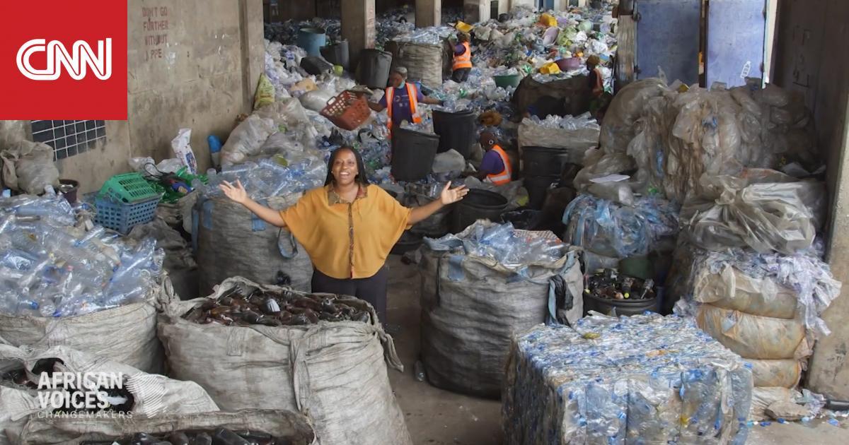 هكذا تمكنت امرأة من إقناع شعبها بعدم رمي النفايات
