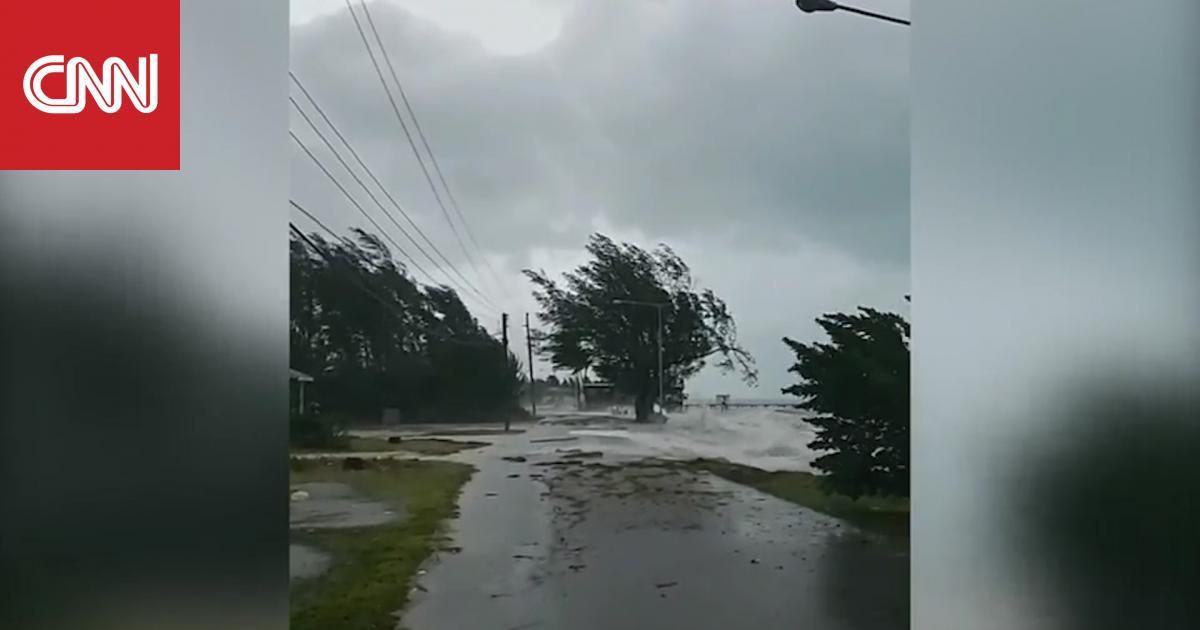 """""""دوريان"""" يصل البهاما كأقوى إعصار يضرب المنطقة منذ 27 عامًا"""