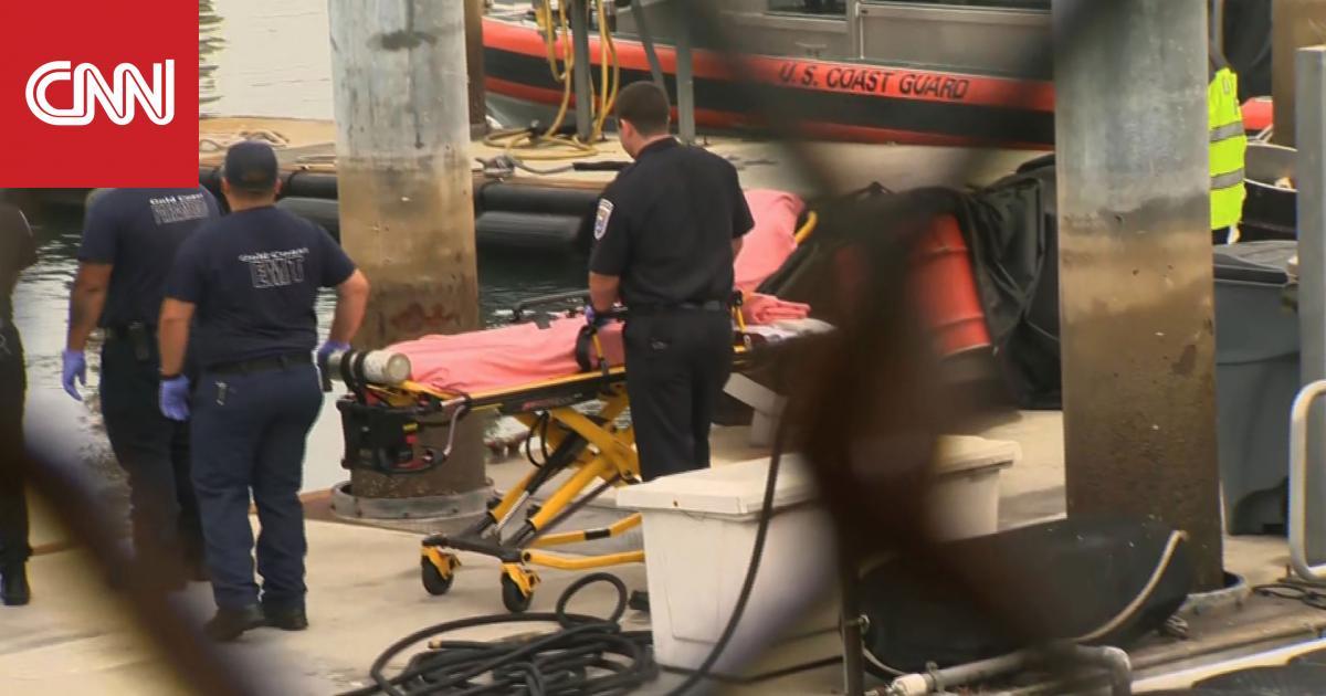 مصير مجهول لـ34 شخصا كانوا نائمين في قارب محترق بكاليفورنيا