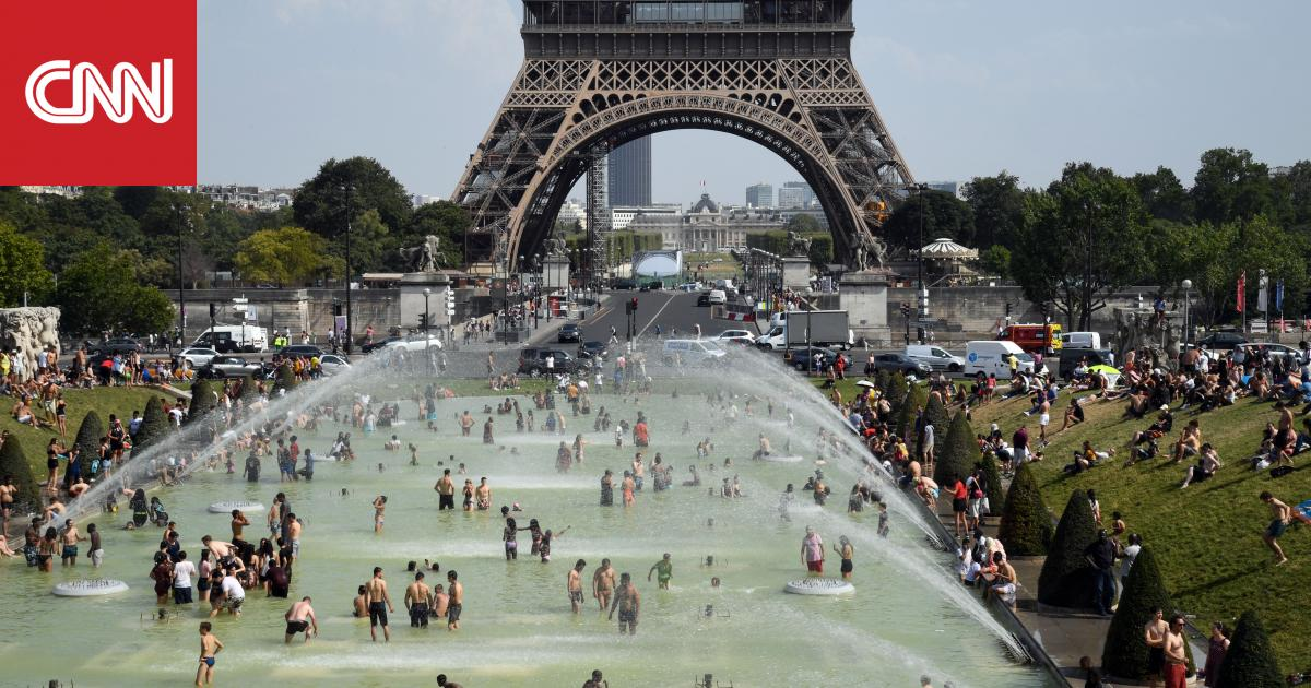 فرنسا تسجل نحو 1500 حالة وفاة مرتبطة بارتفاع درجات الحرارة خلال فصل الصيف