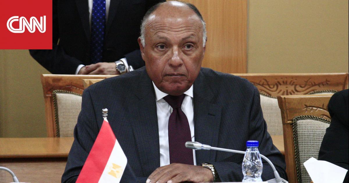 سامح شكري: مصر تجري اتصالات لرفع اسم السودان من الدول الراعية للإرهاب