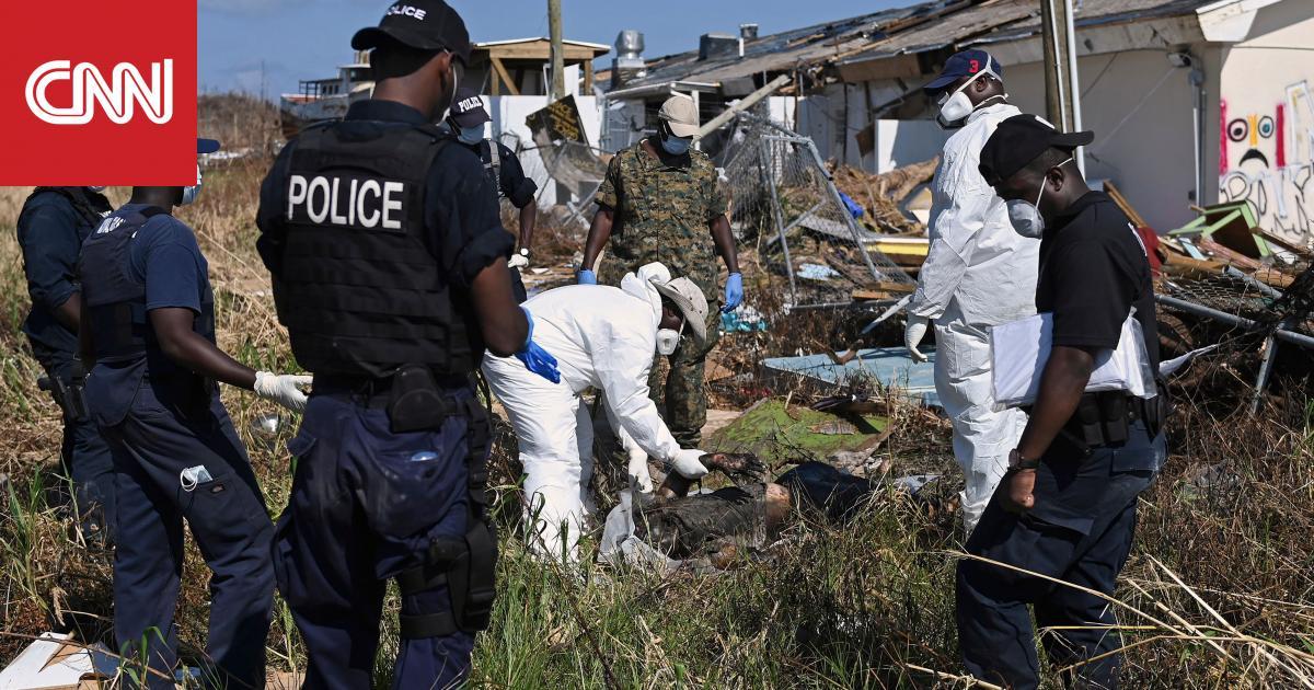 2500 شخص في عداد المفقودين في حزر الباهاما بسبب إعصار دوريان