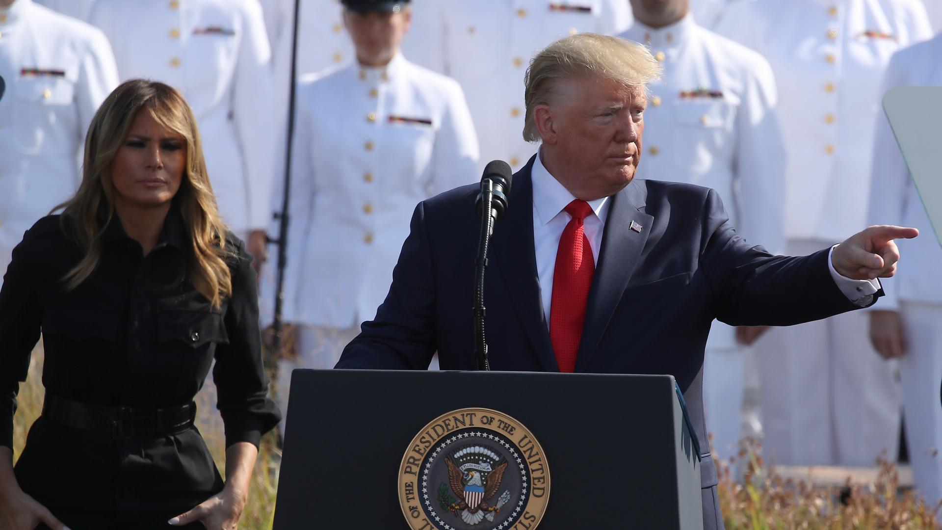 ترامب في ذكرى 11 سبتمبر: سنضرب الأعداء بقوة لم يروا مثلها من قبل
