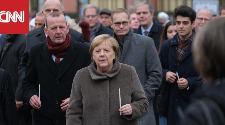ميركل وقادة أوروبيون يحيون ذكرى مرور 30 عاما على سقوط جدار برلين
