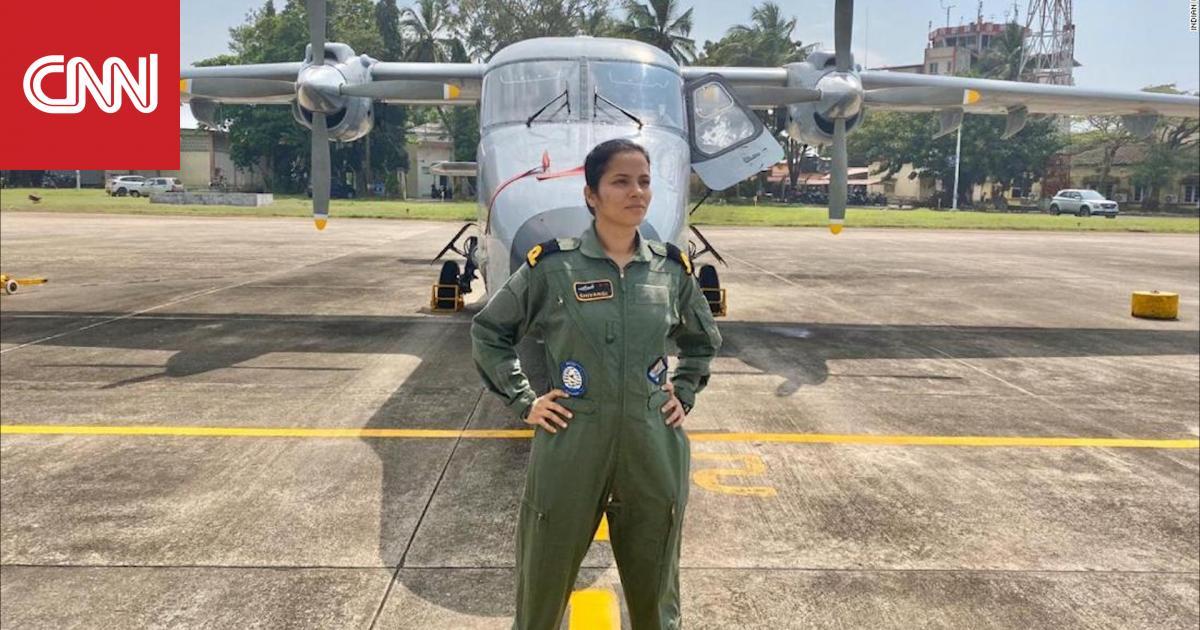 لأول مرة في الهند.. امرأة تعمل طيارًا بالقوات البحرية